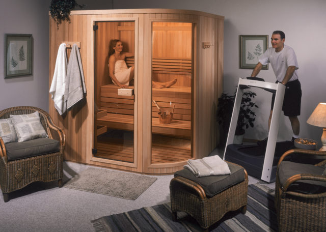 Panel Built Saunas - Socal Sauna